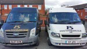 minibus hire Preston