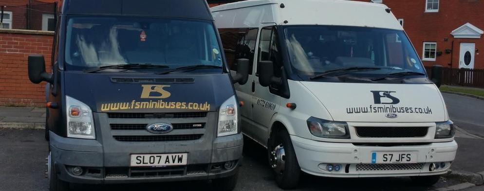 FS MINIBUSES IS YOUR MINIBUSES IN PRESTON