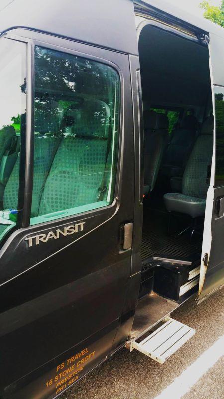 Minibuses hire Preston
